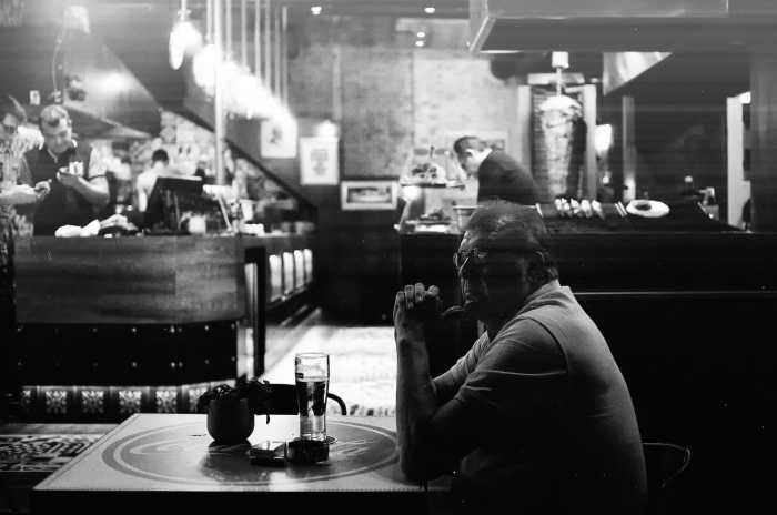 Evening Beer by Spyros Papaspyropoulos