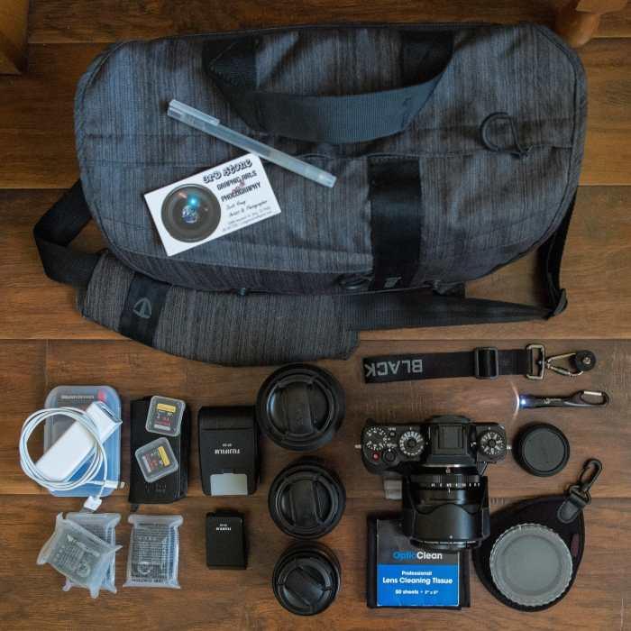 Scott Young's Camera Bag