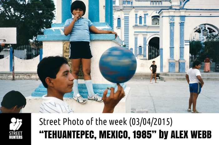 Street Photo of the week by Alex Webb