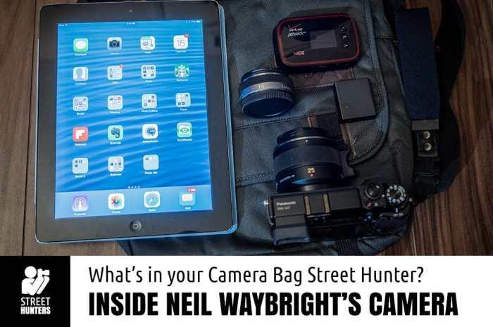 Inside Neil Waybright's Camera Bag