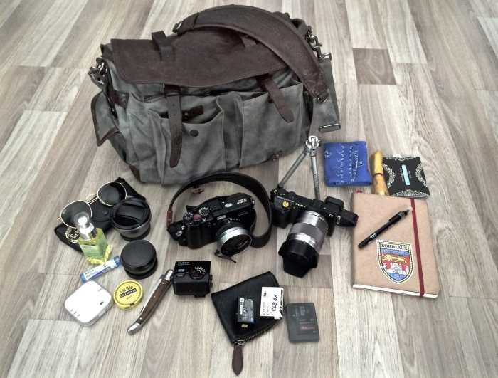 Claude Berger's Camera Bag