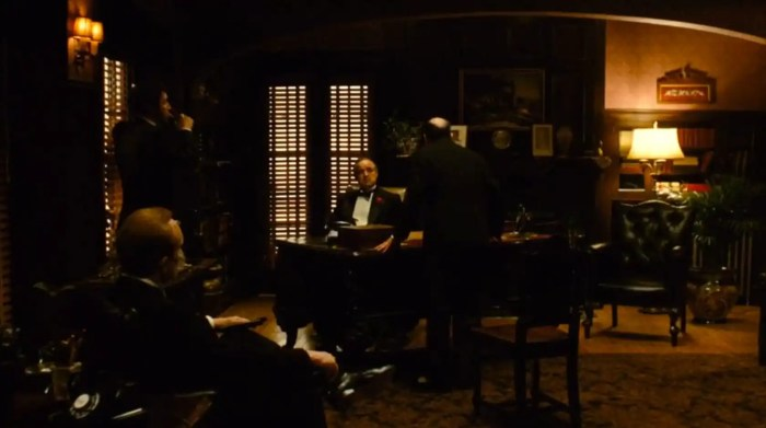 Scene 1 from The Godfather