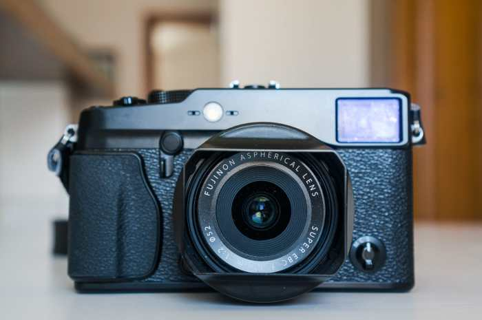 Fujifilm X-Pro1 with the XF18mm