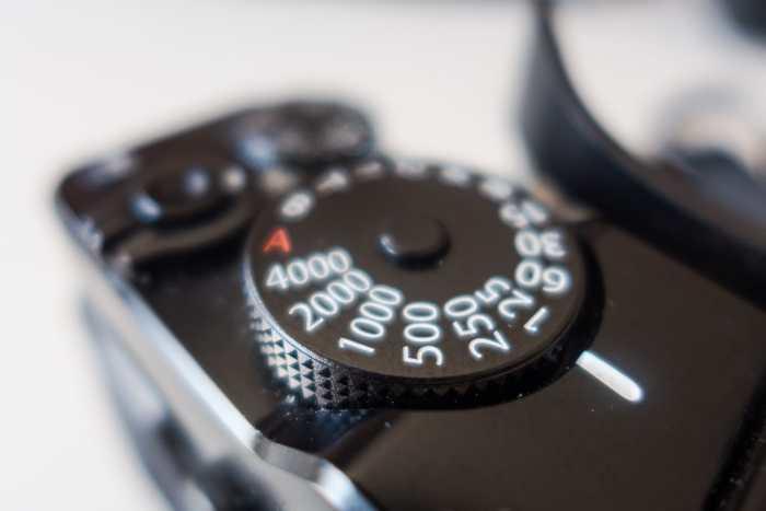 Fujifilm X-Pro1 top dials