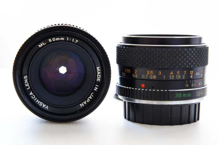 Yashica ML lenses