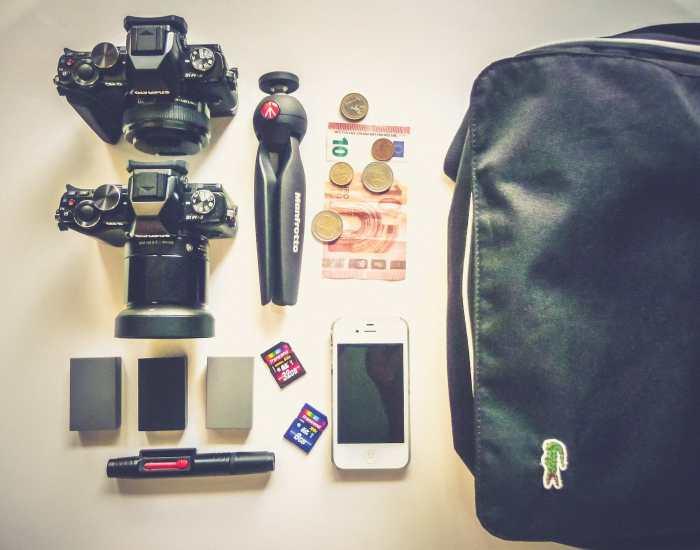 David Vergara's Camera Bag