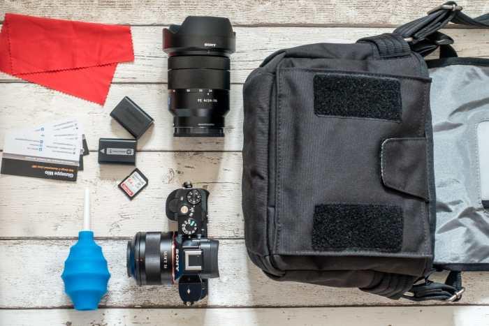 Giuseppe Milo's Camera Bag