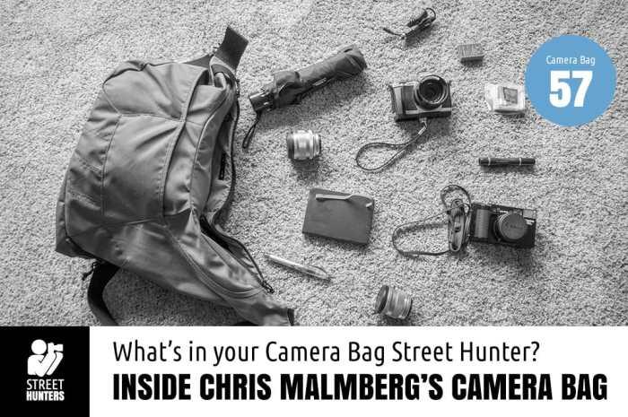 Inside Chris Malmberg's Camera Bag