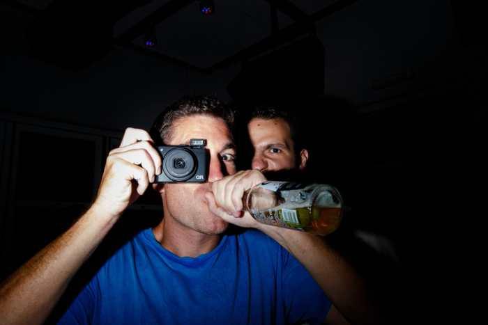 F.D. Walker & Notis Lampakis practicing 'social street photography'