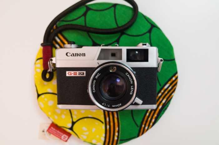 Canon Canonette QL17 top view