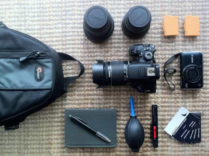 Arko Højholt's Camera Bag