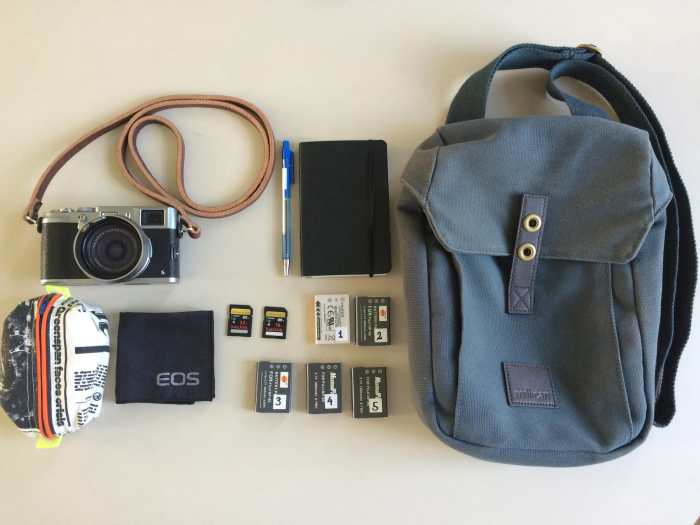 Brian Jakobsen's camera bag