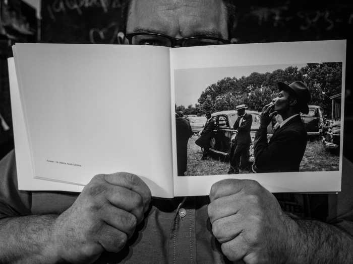 """""""The Americans"""" by Robert Frank inside page"""