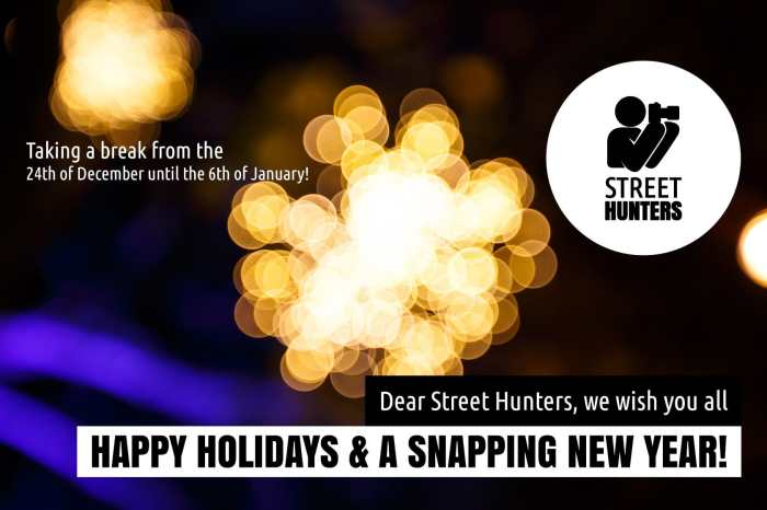 The Street Hunters with you Happy Holidays 2015