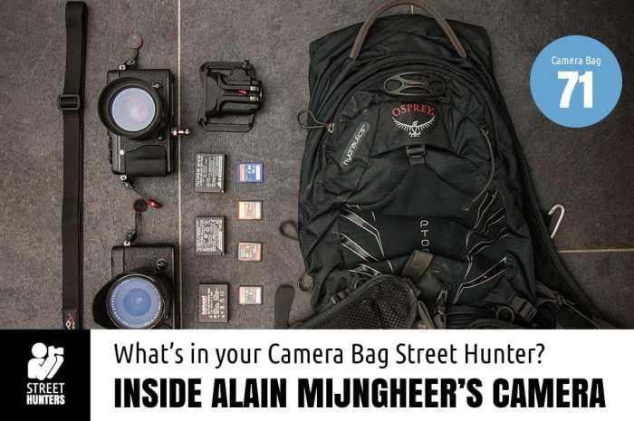 Inside Alain Mijngheer's Camera Bag