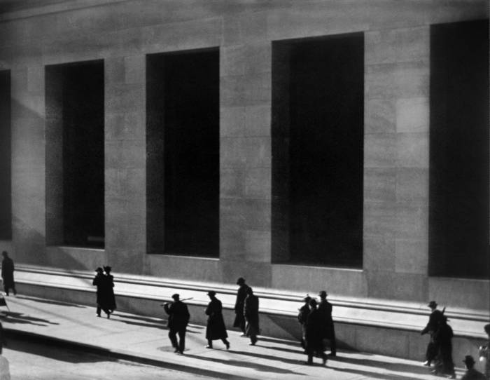Wall Street by Paul Strand