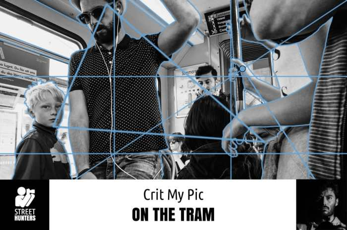 Weekly Pic - 'On The Tram' by Linus Andersson