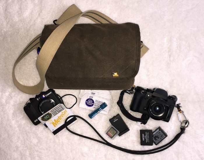 Jake Lambroza's Camera Bag