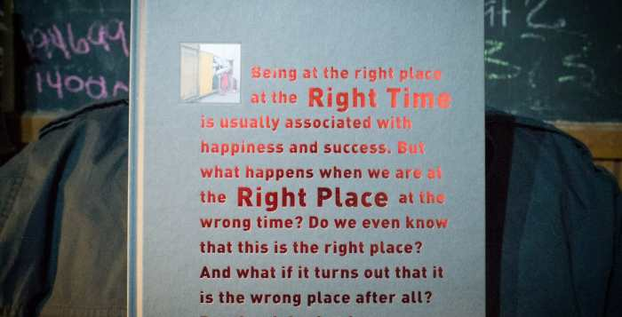 """Robert Rutöd """"Right Time Right Place"""" Cover"""