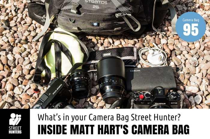 Inside Matt Hart's Camera Bag
