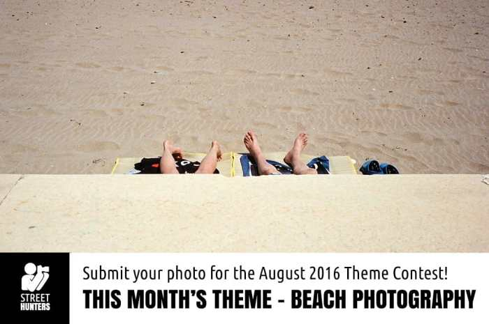 August Theme Contest - Beach Photography