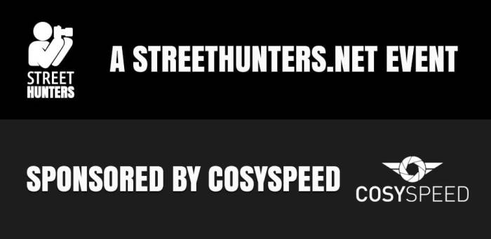A streethunters.net event sponsored by cosyspeed