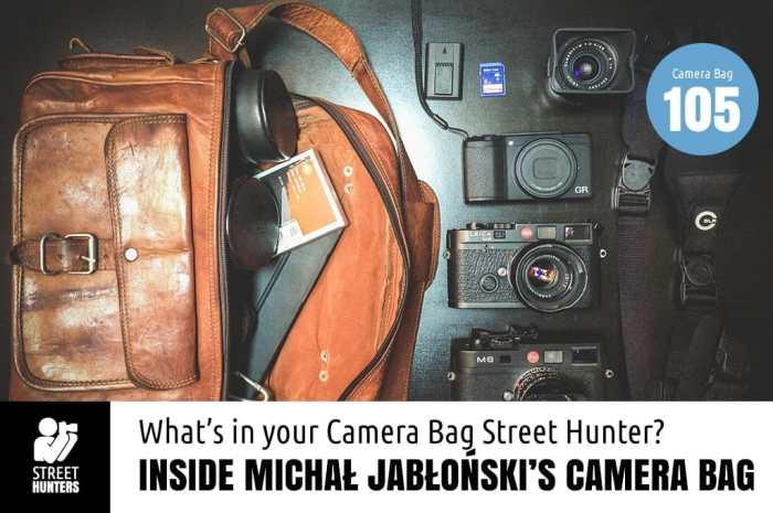 Inside Michal Jablonski's Camera Bag