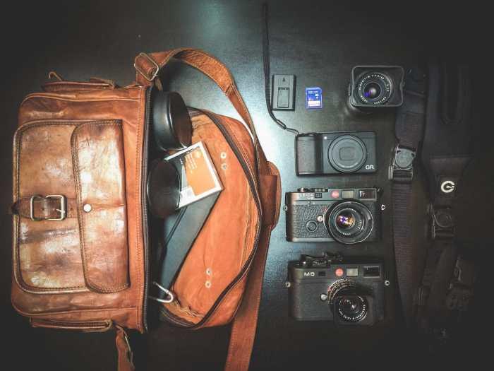 Michal Jablonski's Camera Bag