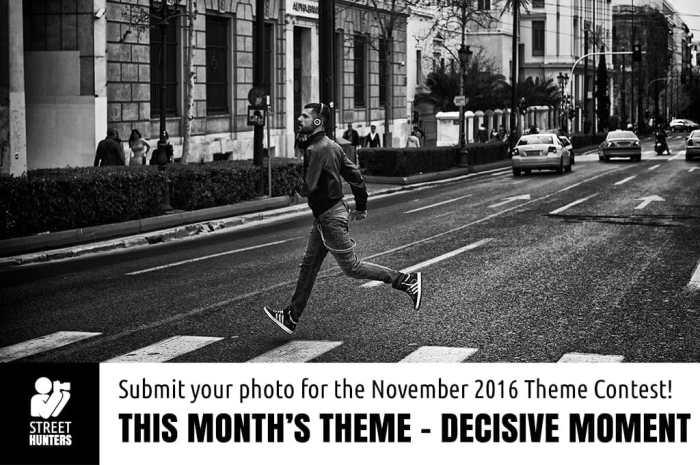 Monthly Theme Contest - Decisive moment