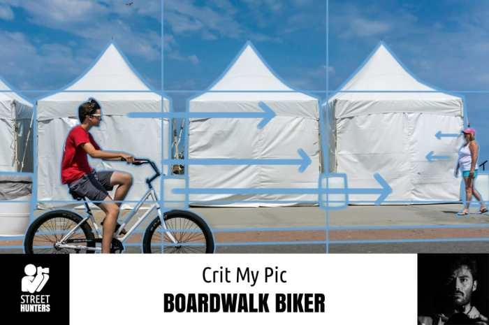Crit My Pic 'Boardwalk Biker' by Michael Schmitt