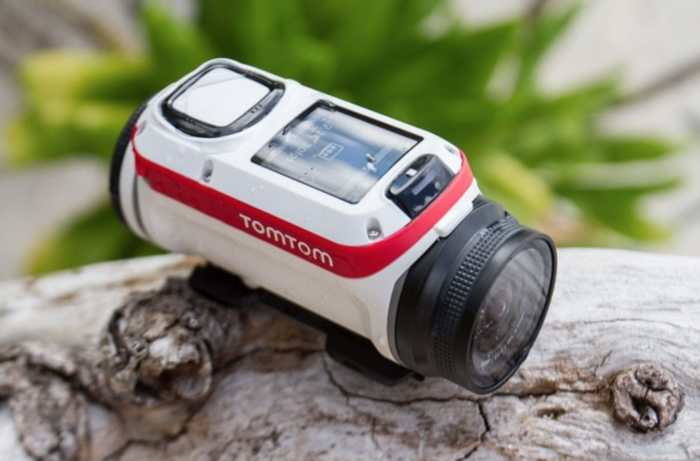 Street Hunters list of Best Street Photography Vlogging Action Cameras includes the Tom Tom Bandit