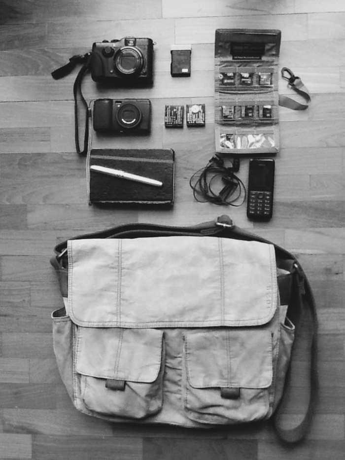 Stefano Marcovaldi's Camera Bag