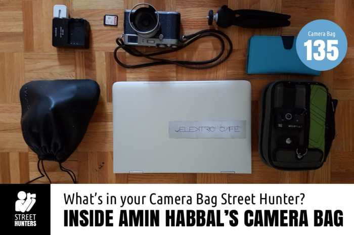 Inside Amin Habbal's Camera Bag