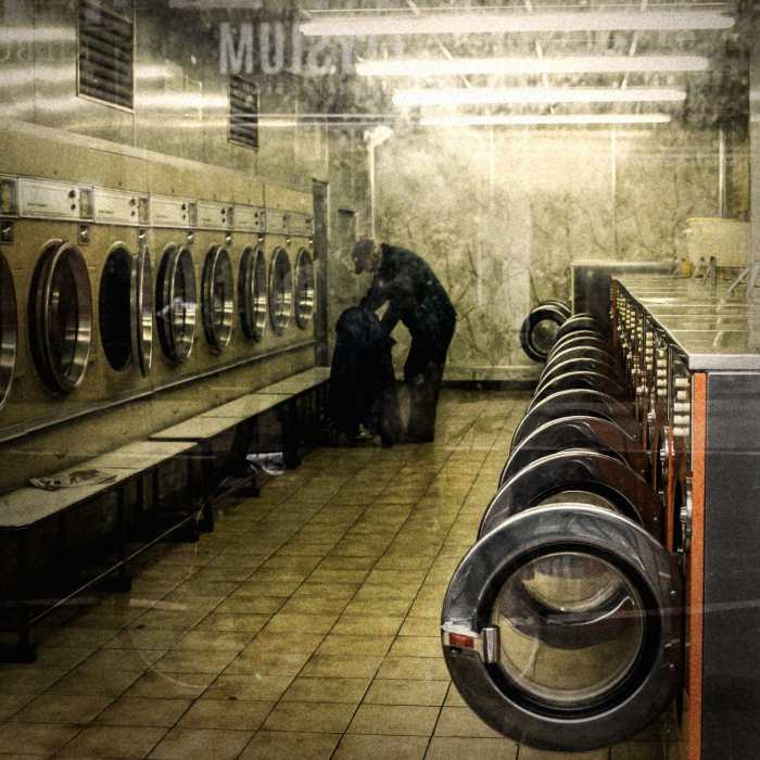 'Laundry' by Samuel George Wells