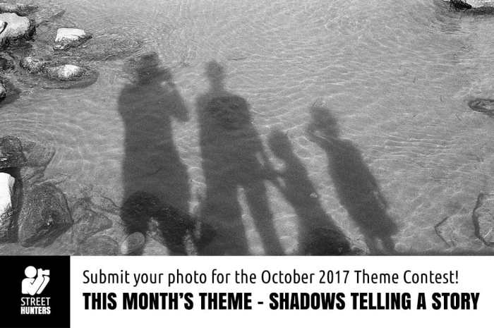 Shadows telling a story - October theme competition