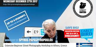 Beginner Street Photography Workshop by Spyros Papaspyropoulos on 23rd December in Athens, Greece