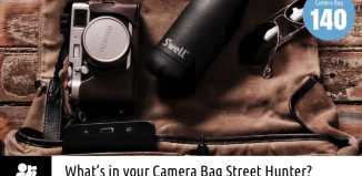 Inside Marcelo de Coghlan's Camera Bag