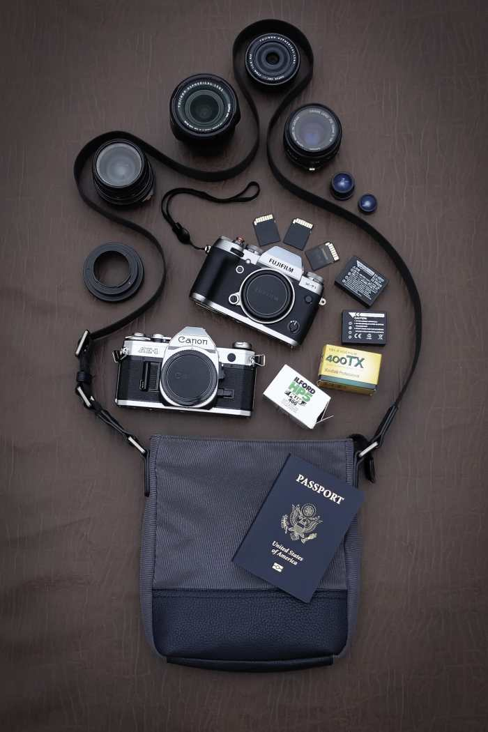 William Simpson's Camera Bag - Bag No. 142