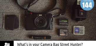 Inside David Fidalgo's Camera Bag
