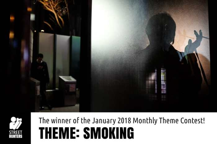 Winner of the January 2018 Street Photography Contest, Kristin Van den Eede