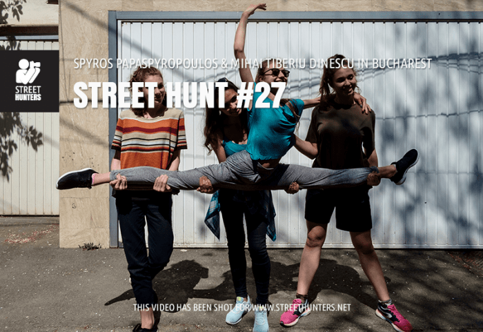 Street Hunt video 27 - Bucharest, Romania