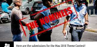 "May 2018 monthly theme contest ""The Law (Police)"" nominees"