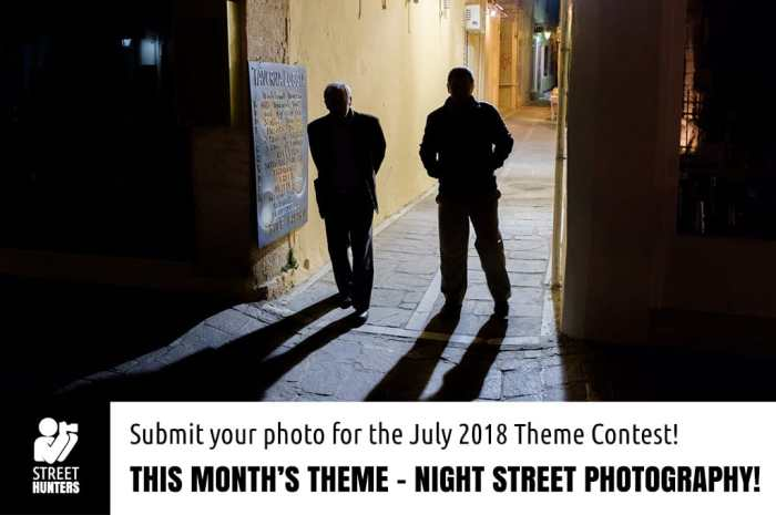 July contest - Night Street Photography -
