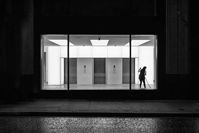 Cleaner by Rupert Vandervell