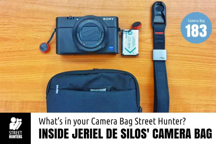 Inside Jeriel de Silos Camera Bag - Bag No.183
