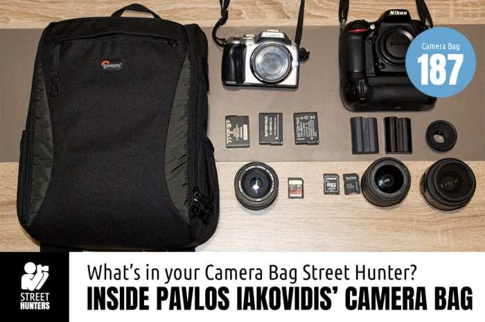 Pavlos Iakovidis Camera Bag - Bag No. 187