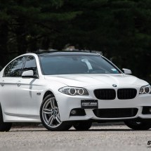 BMW 5 Series Gloss White