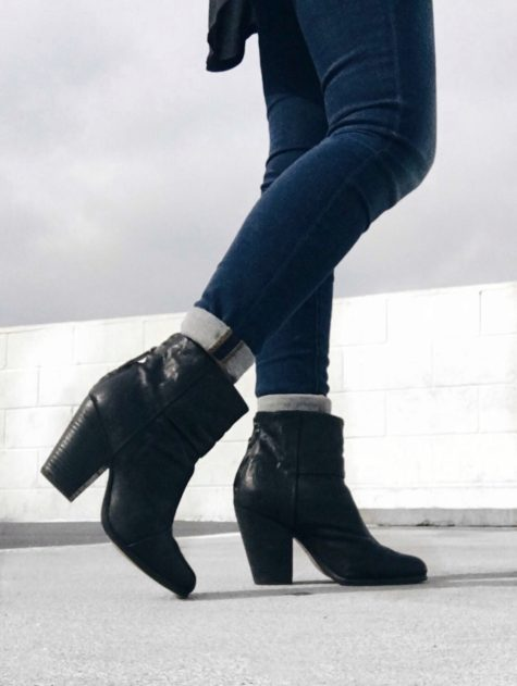 Black Rag and Bone Newbury boots