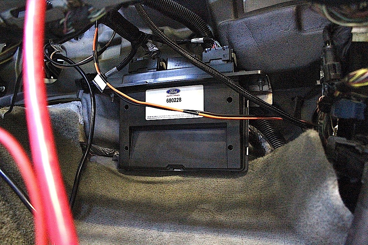 hight resolution of top row pawlak relocated the fuse box to the cabin under the dash he also pulled the passenger airbag and modified the cover to allow quick access to the