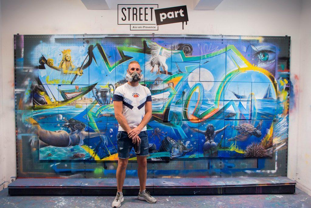 Street Art Zeco III Fresque réalisée par ZECO Chez Street Part